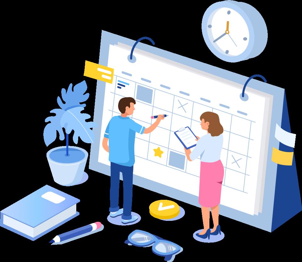 Ilustração - Faça um planejamento estratégico de ações
