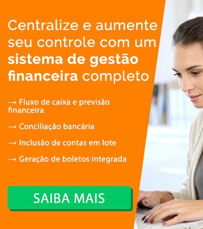 Conheça nosso Sistema de Controle Financeiro
